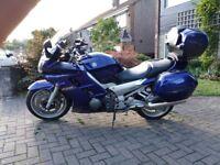 Yamaha, FJR 1300, Electric Blue, fantastic touring bike
