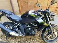 Kawasaki Z250sl naked