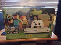 Xbox One S 500gb - Minecraft Favourites - Brand New