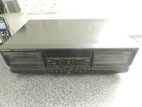 Technics RS TR474 Twin cassette deck with slight fault