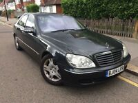 Mercedes-Benz S Class 5.0 S500 4dr *Full Leather Top of TheRange* Hpi Clear *FREE 03-Months Warranty