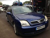 2004 Vauxhall Vectra C estate 2.2 direct LS blue BREAKING FOR SPARES
