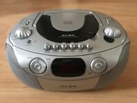 Portable CD Cassette Radio