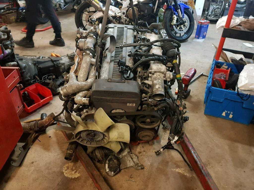 1jz 2 5 Twin Turbo Toyota Engine Ecu Wiring Loom In Exeter E38 Bmw Dme