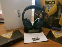Ps4 turtle beach elite 800 wireless gaming headset boxed xbox
