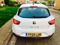 SEAT IBIZA 1.2 12 month mot 12 month tax £30 road tax a year lady owner 65k £2395