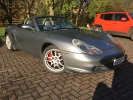 Porsche Boxster 3.2s. Excellent condition. Seal grey
