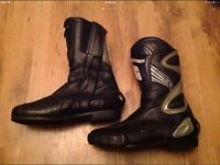 Gaerne motorcycle race boots.