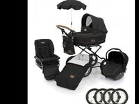 Baby style 3 in 1 limited edition pram