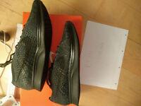 Nike flyknit racer midnight triple black UK7 UK7.5