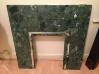 MARBLE FIREPLACE, GOOD CONDITION