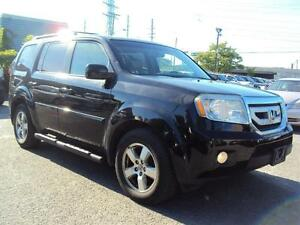 2011 Honda Pilot EX-L LEATHER SUNROOF HEATED SEATS BACK UP ALLOY