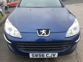 Cheap Reliable 2006-Peugeot 407 5 Door Spacious Hatchback/Towbar/Roofrack