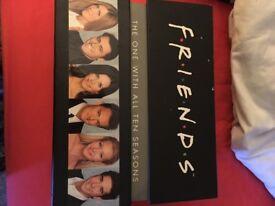 All 10 seasons of friends