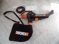 WORX WG501E TriVac 3000W Blower/Mulcher/Vacuum