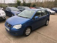 VW Polo 1.4 S 5dr ------- 1 Year MOT ---- Air Con ------1 Former Keeper