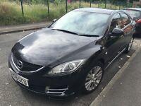 Mazda 6 Black 2009 2.2 Turbo Diesel 123700 mileage £3249.00