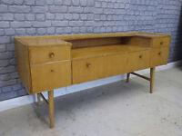 Vintage Retro Mid Century Dresser/Sideboard Shabby Chic Atomic Legs Meredew