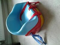 mothercare booster seat + step stool