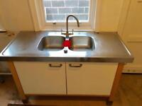 *SOLD* Free standing Ikea Kitchen