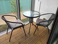 Garden table and chairs in Leeds West Yorkshire Outdoor
