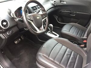 2013 CHEVROLET SONIC RS AUTO- SUNROOF, HEATED LEATHER SEATS, REM Windsor Region Ontario image 12