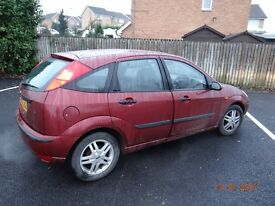 ford focus 1.6 automatic zetec with overdrive