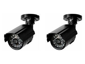 CHUPETE-Seguridad-camaras-x2-auto-NOCHE-Dia-Interruptor-Compacto-amp