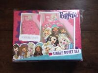 New Girls BRATZ Single Duvet Set - 2 in 1 Reversible