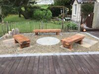 Fire Pit Benches