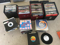 "Job Lot of over 450 7"" Vinyl's (LP's Records) – 80's Chart Music"