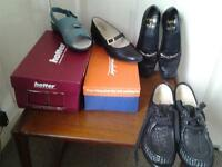 Four pairs of Ladies Shoes Size 4