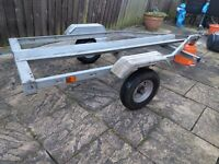 Trigano single motorbike trailer