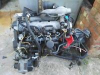 Renault megane f8t complete engine with gearbox ecu