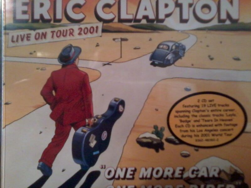 Eric Clapton One More Car, One More Rider 2cd/dvd.