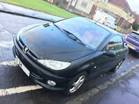 Peugeot 206 Allure 04 Plate Convertible