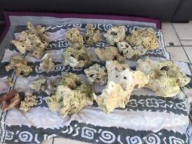 Approx 45kg of ocean rock