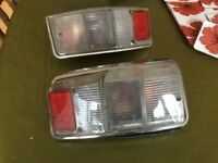 Classic mini rear lights