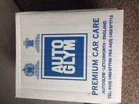 AUTOGLYM CAR SHAMPOO CONDITIONER BRAND NEW , SUIT VALETING CAR BIKE CARAVAN BOAT , 2 BOXS LEFT