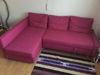 SOFA BED WITH CHAISE LONGUE