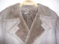 Fully lined full lengthsheepskin coat