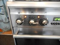 SMEG DUAL FUEL DOUBLE OVEN FAN ASSISTED COOKER**S/STEEL**