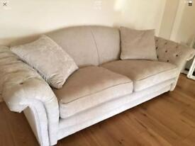 Loch Leven medium sofa in oyster DFS