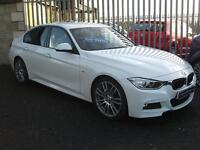 BMW 3 SERIES 330d M Sport Step Auto (white) 2013