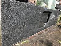 Black Sparkle Granite Kitchen Worktop