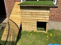 Dog box kennel