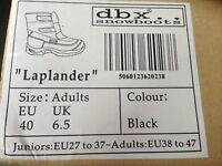 "Porelle ""Laplander"" dbx snowboot black size 6.5 - EU40"