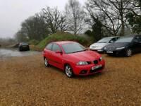 2007 Seat Ibiza Sport 1.9 TDI 3dr Hatchback 6 Months MOT No Advs Service History