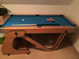 Riley 6.5ft Folding Pool Table