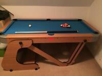 Riley 6.5ft Folding Pool Table